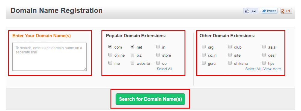 domain name registration bigrock coupon