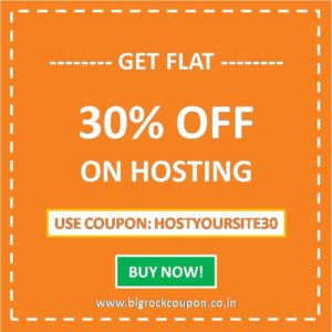 BigRock Hosting Coupons