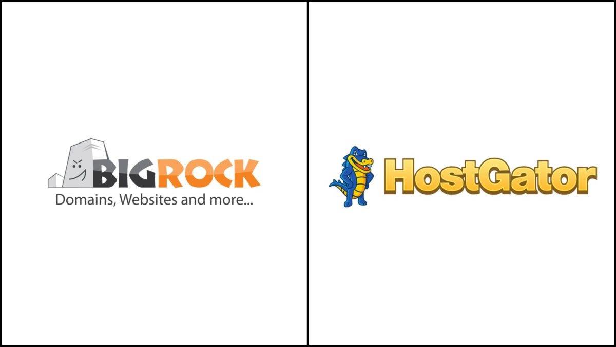 BigRock vs HostGator Review